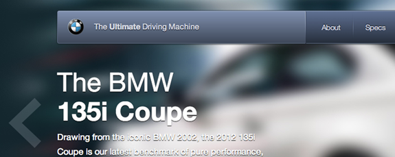BMW 135i website