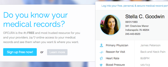 Medical startup for online medical records
