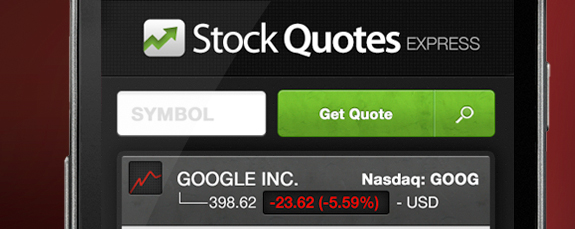 stock quotes app android ios